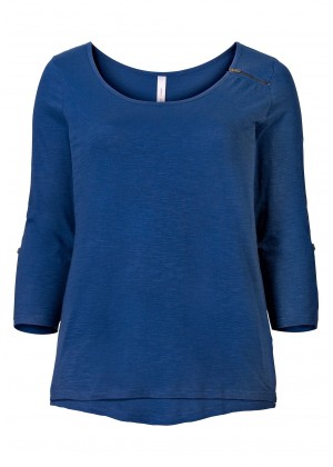 Longshirt - blau
