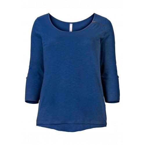 Sheego - Longshirt - blau | LapreZa Online Shop