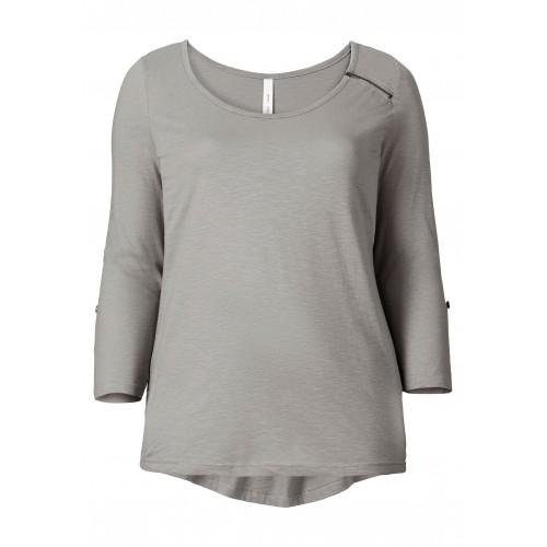 Longshirt - grau