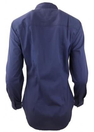 Bluse - dunkelblau