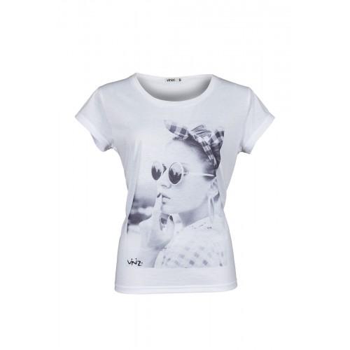Vinizi - T-Shirt - Anthea - weiß | LapreZa
