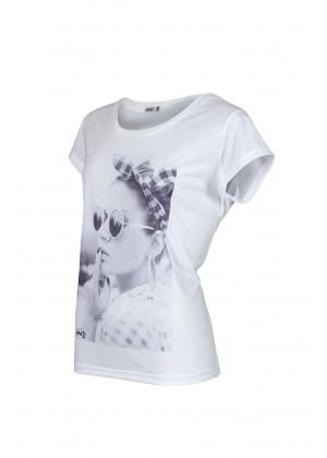 T-Shirt - Anthea - weiß